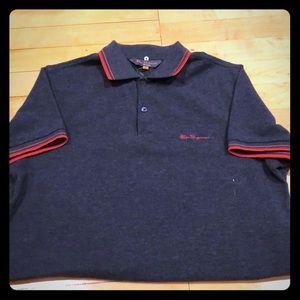 Ben Sherman heritage collection grey marl shirt